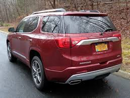 nissan pathfinder vs gmc acadia review 2017 gmc acadia midsize crossover u2013 choose cars wisely