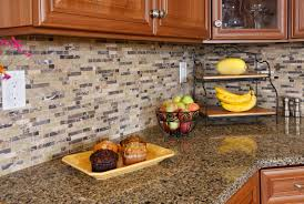 Red Kitchen Tile Backsplash Granite Countertop Norcraft Cabinetry Reviews Subway Tile