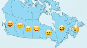 map canada east coast b c and are the happiest provinces in canada but there s