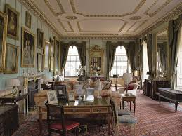 English Country Window Treatments by The South Drawing Room At Althorp House Northamptonshire England