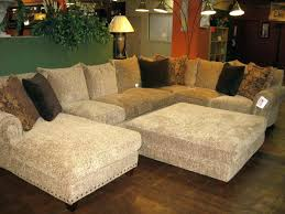 large sectional sofas cheap marvelous sectional sofa with oversized ottoman sophisticated