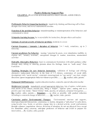 Special Education Teacher Resume Behavior Modification Plan Sample Resume Senior Director Resume