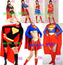 halloween costume with cape superwoman suit costumes 7 style lycra spandex superwoman