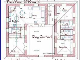 l shaped floor plans pleasing u shaped house plans and together with u shaped house