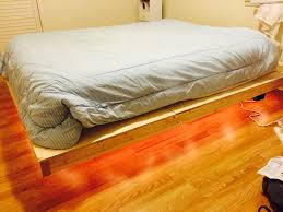 floating bed homemade floating bed u2013 ben lobaugh online