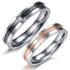 matching wedding rings for him and unique matching wedding bands his and hers cool wedding bands