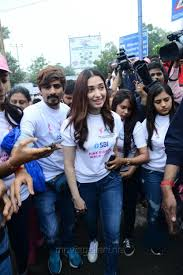 Breast Cancer Flags Picture 1257703 Actress Tamanna At Pink Ribbon Breast Cancer