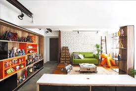 Room Design Builder House Tour Industrial Meets Pop Art In A 5 Room Hdb Flat Home