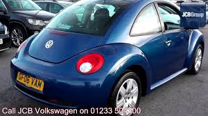 volkswagen beetle blue 2006 volkswagen beetle luna 1 4l laser blue metallic gf06vam for