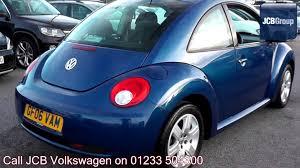 blue volkswagen beetle 2006 volkswagen beetle luna 1 4l laser blue metallic gf06vam for