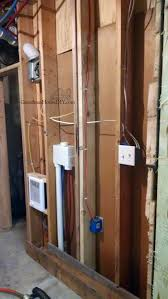 Barn Wood Basement Covering Walls With Pallet Wood The Basement Bathroom Renovation
