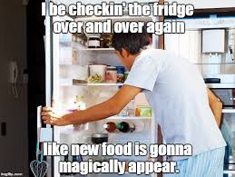 Fridge Meme - the refrigerator struggle anyone else imgflip