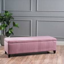 Skyline Furniture Upholstered Storage Bench Purple Storage Benches You U0027ll Love Wayfair