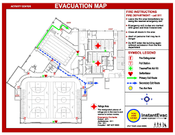 Fire Evacuation Floor Plan Template Know Your Exit Instantevac Samples