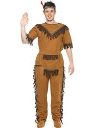 Pocahontas Halloween Costume Adults Indian Brave Costume 20457 Fancy Dress Ball