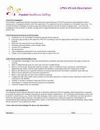 Resume Template For Caregiver Position Sle Resume Of A Caregiver Unique 46 Collection Of Lpn