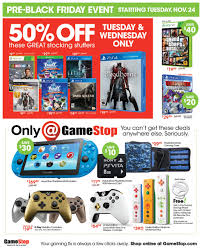 ps4 games black friday gamestop u0027s pre black friday deals have arrived gamer assault weekly