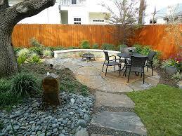 Backyard Corner Landscaping Ideas by Exterior Brown Wooden Corner Shade Garden In The Home Landscape