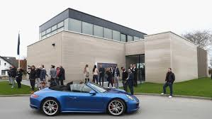 porsche showroom porsche on sylt