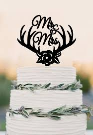 mr mrs cake topper online shop wedding cake topper deer antlers mr mrs cake topper
