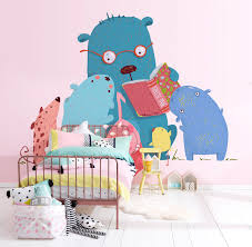 vinyl wall stickers and mural wallpapers for kids rooms emily may