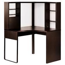 bureau ordinateur ikea micke poste de travail d angle brun noir angles ikea et