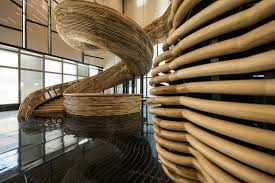 Stair Elements by Sculptural Stair Element In The Newest Addition To Tel Aviv U0027s Skyline