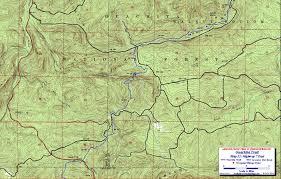 Mountain Map Ouachita Trail Maps Ouachita Mountains Ok Ar Free Detailed Topos