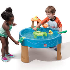 step2 kids water activity table toddler outdoor toys waterpark