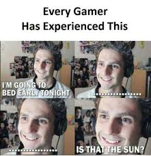 Sleep Is For The Weak Meme - you are too weak if you still need your sleep gamer meme by