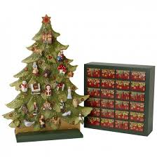 nostalgic ornaments calendario dell avvento set 2014 villeroy