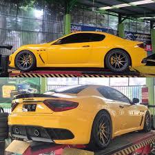 yellow maserati velosindonesia