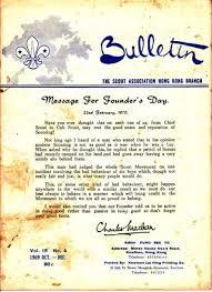 駘ection bureau association 1960 the scout bulletin number 2 the boy scouts association hong
