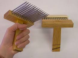 carding comb emmy s gallery