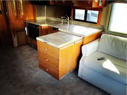 Kitchen Cabinet Standard Sizes Kitchen Furniture Kz Rv Connect C241rlk Travel Trailer Kitchen
