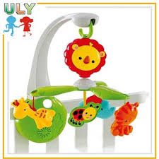 infrared baby musical mobile projective baby musical mobile toys