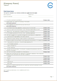 exit questions template 28 images sle exit form 10 exles in