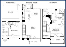 3 storey house plans 3 story building plans ideas free home designs photos