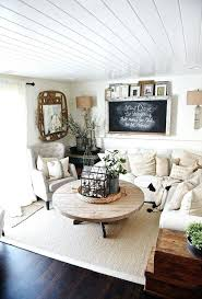 Cottage Home Decor Cozy Home Decor Cozy Neutral Farmhouse Style Living Room With