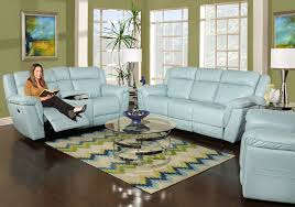 Blue Leather Chair Kane U0027s Furniture Living Room Collections