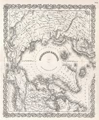 North Pole Map File 1855 Colton Map Of The Arctic Or North Pole Geographicus