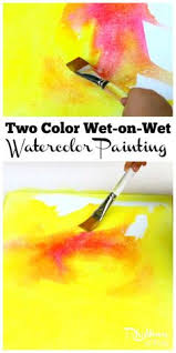 waldorf inspired watercolor painting with children by anita briggs