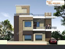 Duplex Home Plans Modern Beautiful Duplex 2 Floors House Design Area 920 Sq Mts