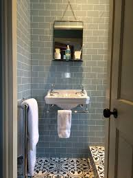 Blue Bathroom Tiles Ideas Bedroom 2 Ensuite Shower Room Burlington Edwardian Cloakroom