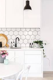 White Kitchen Backsplash Tiles Simple Design For Black And White Kitchen Backsplash Tile U2013 Home