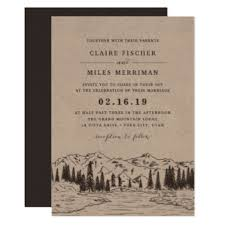 mountain wedding invitations mountain wedding invitation yourweek 9ead6beca25e