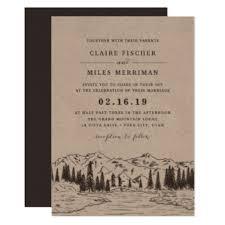 mountain wedding invitations mountain wedding invitation yourweek 9ead6beca25e