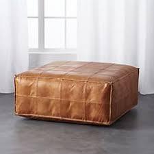 navy bi cast leather skylar ottoman world market 40