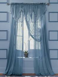 Blue Sheer Curtain Pink Tulle Curtains Romancing My Home Pink