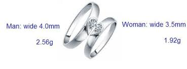 the goods wedding band online shop heart silver color anel commitment ring wedding